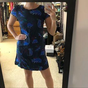 Dino Printed Dress